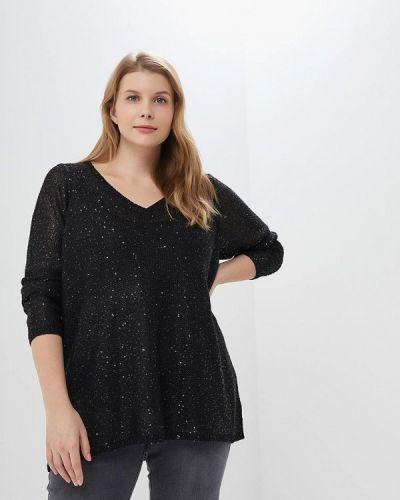 Черный пуловер Junarose
