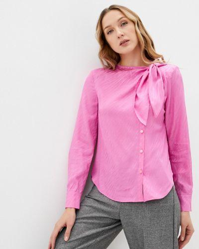 С рукавами розовая блузка Twist & Tango