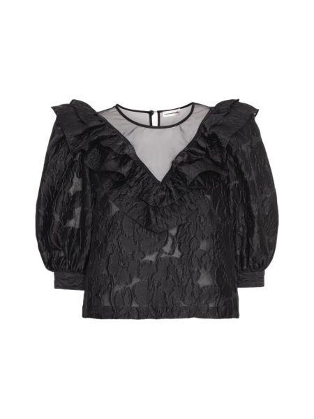 Czarna bluzka Custommade