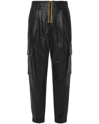 Czarne spodnie K-way