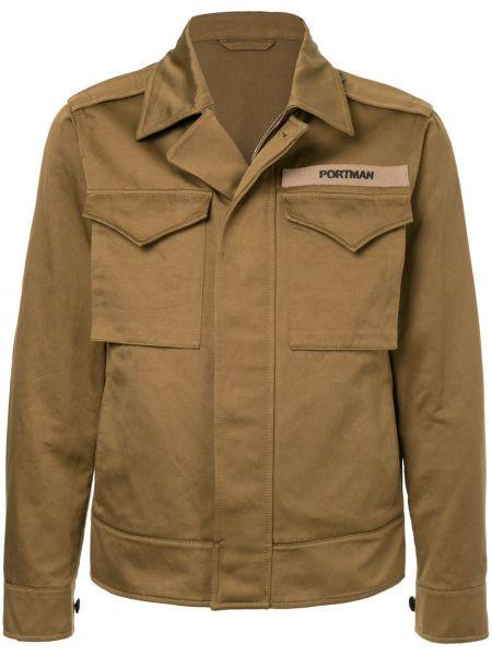 Куртка льняная на пуговицах Kent & Curwen