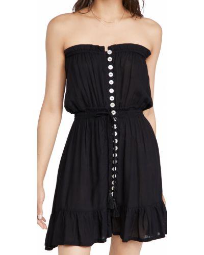 Облегающее платье мини - черное Tiare Hawaii