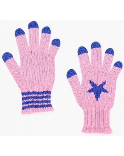 Розовые перчатки United Colors Of Benetton