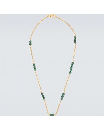 Серебряное ожерелье с бисером Elhanati