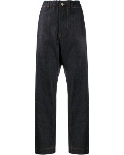 Синие с завышенной талией джинсы свободного кроя Sofie D'hoore