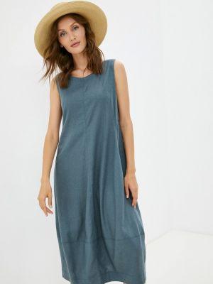 Зеленое платье летнее Helmidge