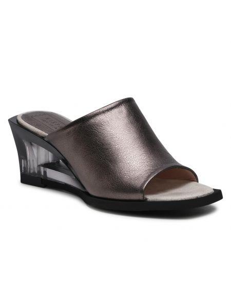 Sandały srebrne Hispanitas