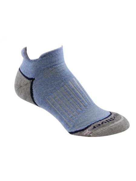 Тонкие коричневые нейлоновые носки со вставками Foxriver