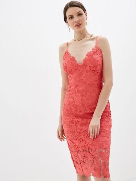 Вечернее платье красный весеннее Goddiva