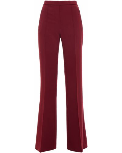 Бордовые брюки с карманами Theory