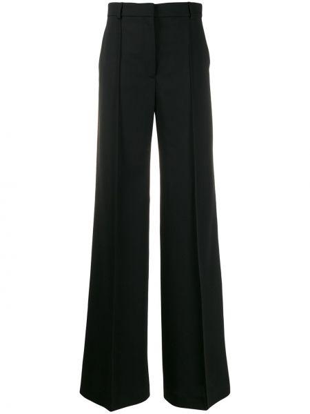 Sportowe spodnie czarne z kieszeniami Stella Mccartney