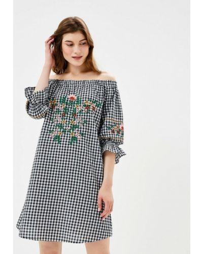 Серое платье осеннее Dorothy Perkins