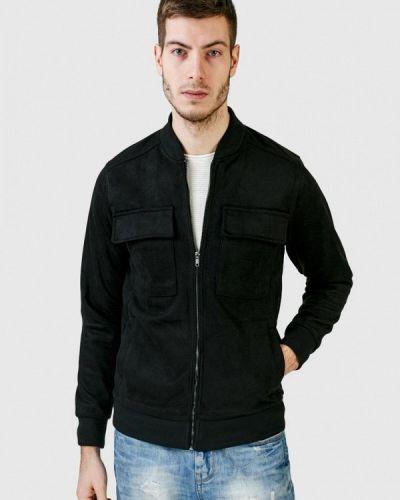 Кожаная куртка - черная Figo