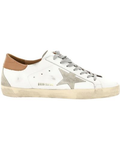 Białe klasyczne sneakersy Golden Goose