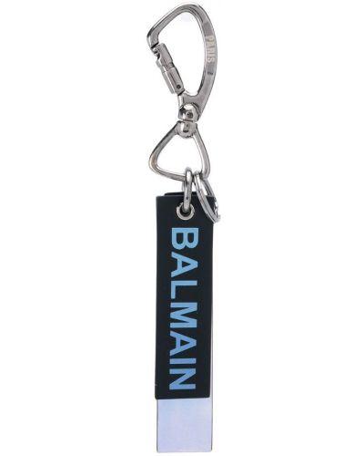 Брелок черный с принтом Balmain