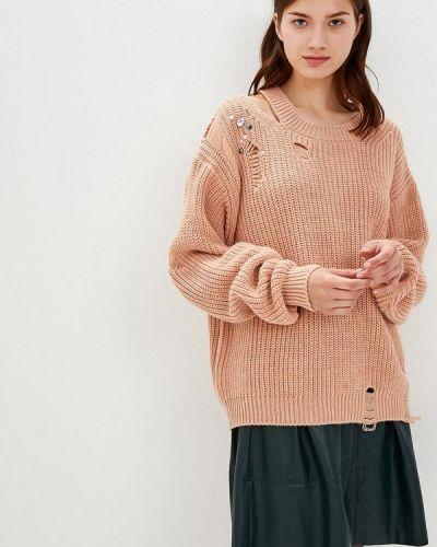 Коралловый свитер Miss Miss By Valentina