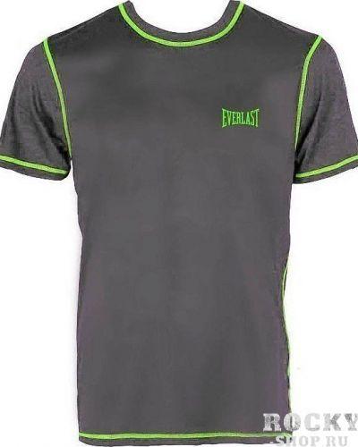 Спортивная футболка черная светлая Everlast