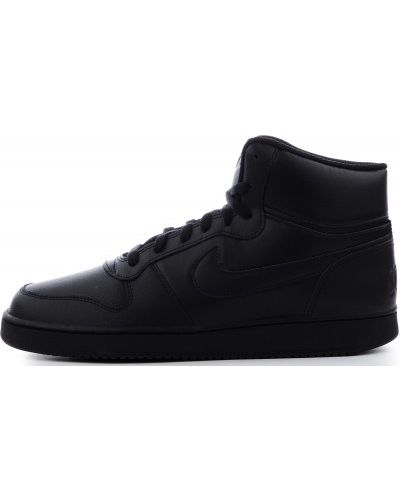 Кеды черные кожаный Nike
