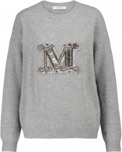 Кашемировый свитер - серый Max Mara