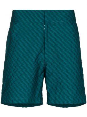 Niebieskie szorty bawełniane Frescobol Carioca