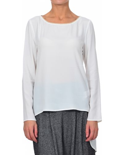 Белая блузка Patrizia Pepe