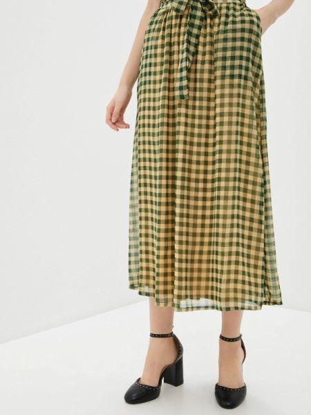 Зеленая юбка Blendshe