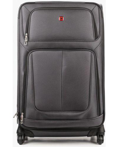 Зеленый чемодан Wenger