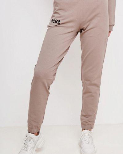 Бежевые спортивные брюки Jolifashn