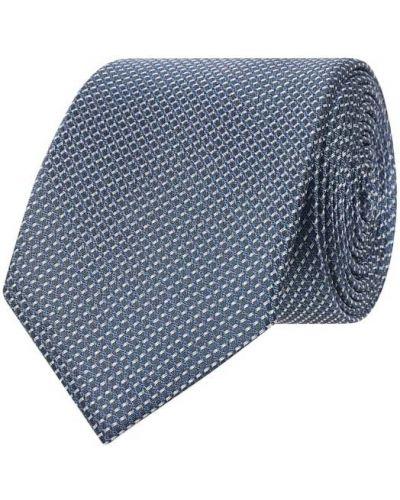 Klasyczny krawat - niebieski Ck Calvin Klein