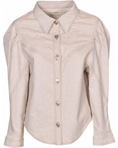 Biała koszula Isabel Marant