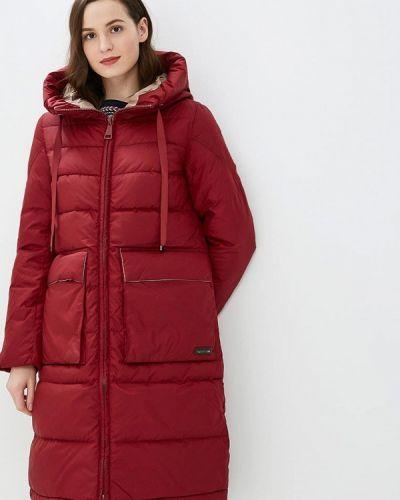 Утепленная куртка - красная Clasna