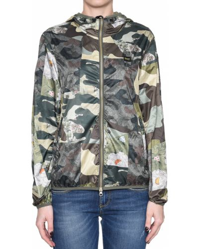 Куртка весенняя зеленая Blauer