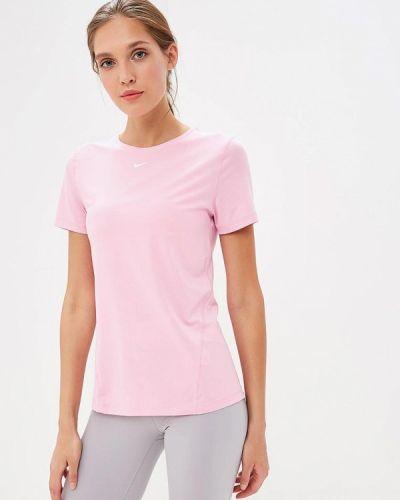Розовое поло спортивное Nike