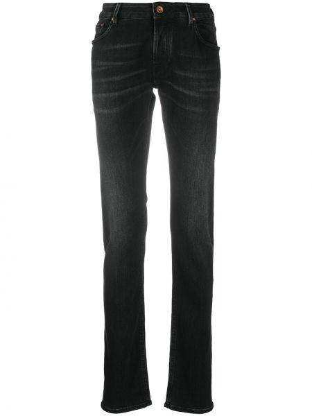 Klasyczne czarne jeansy bawełniane Hand Picked