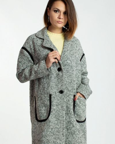 Пальто с капюшоном Modna Anka