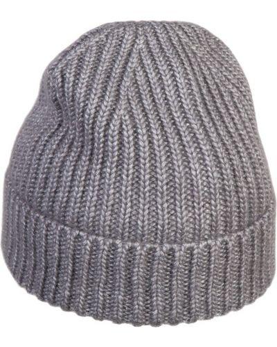 Вязаная шапка с отворотом из мохера Canoe