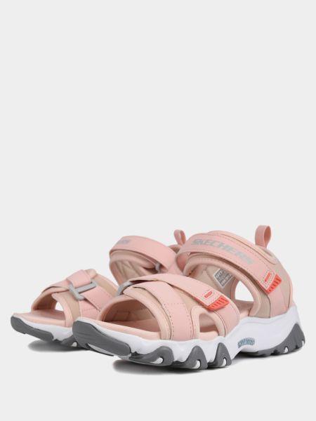 Бежевые сандалии Skechers