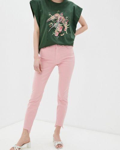 Повседневные розовые брюки Colcci