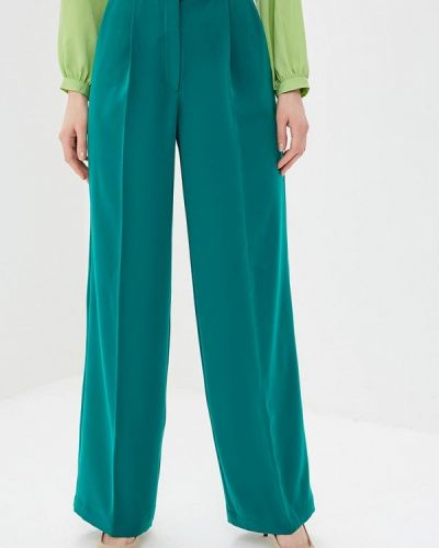 Классические брюки зеленый Elena Kulikova