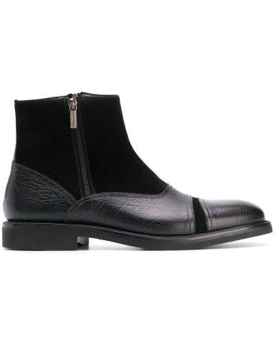 Ботильоны кожаный для обуви Moreschi