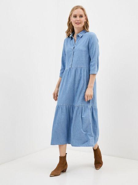 Джинсовое платье весеннее Only