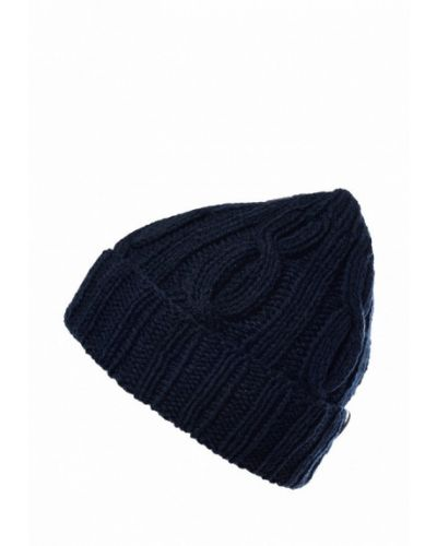 Синяя шапка бини Check Ya Head
