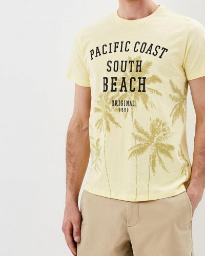 Желтая футболка Sela