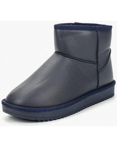 Полусапожки синий Max Shoes