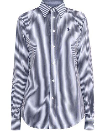 Блузка с длинным рукавом классическая приталенная Polo Ralph Lauren