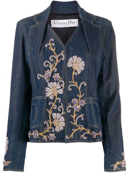 Jeansy długo niebieskie Christian Dior
