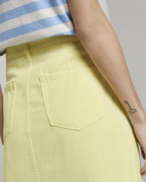 Желтая юбка Tom Tailor