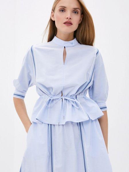 Блузка - голубая Bikkembergs