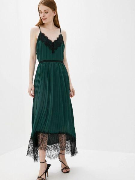 Зеленое вечернее платье снежная королева