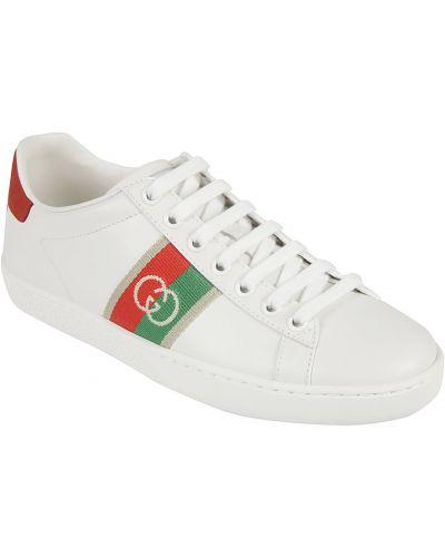 Sneakersy skorzane Gucci